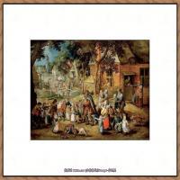彼得勃鲁盖尔Bruegel Pieter荷兰画家油画作品高清图片 (59)