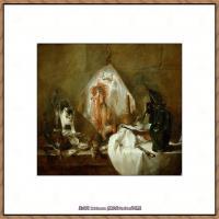 法国著名静物画家夏尔丹Jean Baptiste Siméon静物画巨匠夏尔丹油画作品高清图片 (19)