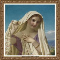 法国学院派画家威廉阿道夫布格罗Bouguereau Adolphe William油画人物高清图片 (94)