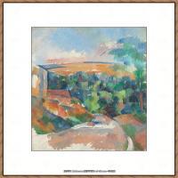 法国著名画家保罗塞尚Paul Cézanne印象派油画作品高清图片塞尚静物画塞尚风景画图片 (107)