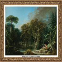 法国洛可可风格画派画家弗朗索瓦布歇Francois Boucher油画作品高清图片肖像画古典宫廷油画高清图片 (263)