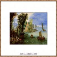 彼得勃鲁盖尔Bruegel Pieter荷兰画家油画作品高清图片 (62)