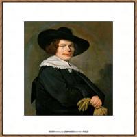 荷兰17世纪著名肖像画家德克哈尔斯Dirck Hals油画人物作品高清图片 (6)