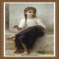法国学院派画家威廉阿道夫布格罗Bouguereau Adolphe William油画人物高清图片 (98)