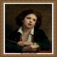 法国学院派画家威廉阿道夫布格罗Bouguereau Adolphe William油画人物高清图片 (71)