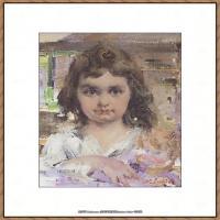 俄裔美籍画家尼古拉费申Nicolai Ivanovich Fechin油画作品高清图片 (11)