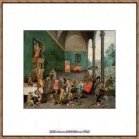 彼得勃鲁盖尔Bruegel Pieter荷兰画家油画作品高清图片 (63)