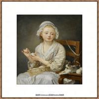 法国著名静物画家夏尔丹Jean Baptiste Siméon静物画巨匠夏尔丹油画作品高清图片 (75)