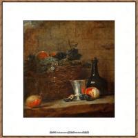法国著名静物画家夏尔丹Jean Baptiste Siméon静物画巨匠夏尔丹油画作品高清图片 (66)
