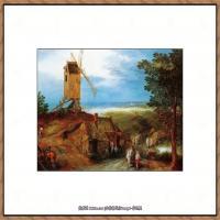 彼得勃鲁盖尔Bruegel Pieter荷兰画家油画作品高清图片 (81)