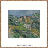 法国著名画家保罗塞尚Paul Cézanne印象派油画作品高清图片塞尚静物画塞尚风景画图片 (119)