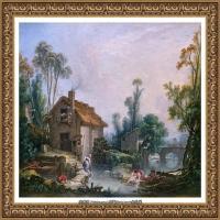 法国洛可可风格画派画家弗朗索瓦布歇Francois Boucher油画作品高清图片肖像画古典宫廷油画高清图片 (243)