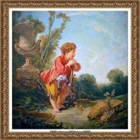 法国洛可可风格画派画家弗朗索瓦布歇Francois Boucher油画作品高清图片肖像画古典宫廷油画高清图片 (38)