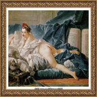 法国洛可可风格画派画家弗朗索瓦布歇Francois Boucher油画作品高清图片肖像画古典宫廷油画高清图片 (230)