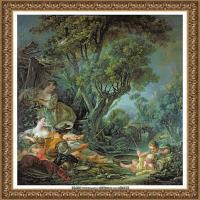 法国洛可可风格画派画家弗朗索瓦布歇Francois Boucher油画作品高清图片肖像画古典宫廷油画高清图片 (261)