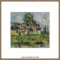 法国著名画家保罗塞尚Paul Cézanne印象派油画作品高清图片塞尚静物画塞尚风景画图片 (133)