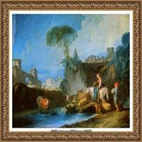 法国洛可可风格画派画家弗朗索瓦布歇Francois Boucher油画作品高清图片肖像画古典宫廷油画高清图片 (24)