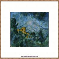 法国著名画家保罗塞尚Paul Cézanne印象派油画作品高清图片塞尚静物画塞尚风景画图片 (134)