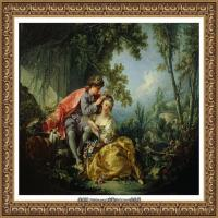 法国洛可可风格画派画家弗朗索瓦布歇Francois Boucher油画作品高清图片肖像画古典宫廷油画高清图片 (41)