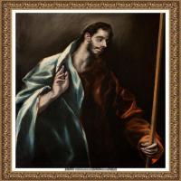 西班牙著名宗教画肖像画画家埃尔格列柯El Greco绘画作品高清图片 (130)