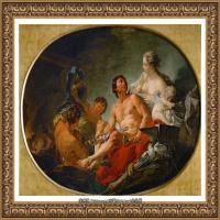 法国洛可可风格画派画家弗朗索瓦布歇Francois Boucher油画作品高清图片肖像画古典宫廷油画高清图片 (255)