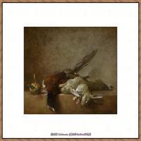 法国著名静物画家夏尔丹Jean Baptiste Siméon静物画巨匠夏尔丹油画作品高清图片 (6)