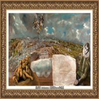 西班牙著名宗教画肖像画画家埃尔格列柯El Greco绘画作品高清图片 (118)
