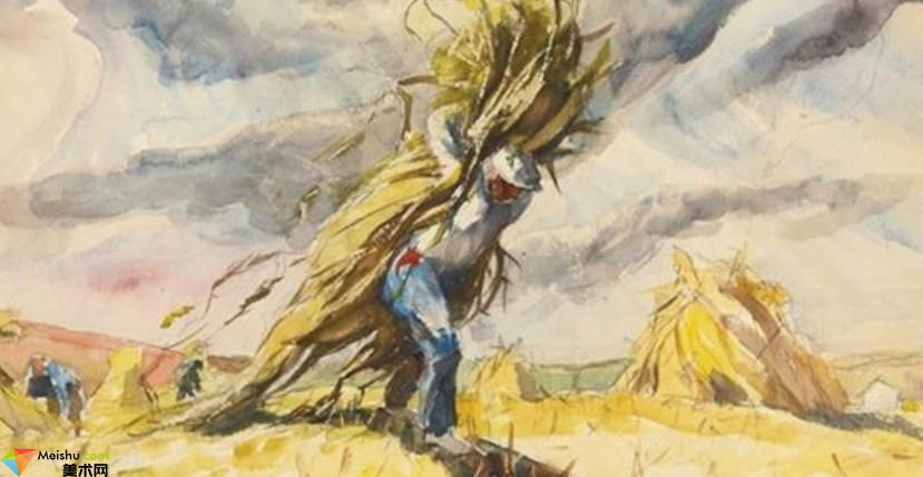 安德鲁·怀斯Andrew Wyeth-水彩展