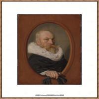 荷兰17世纪著名肖像画家德克哈尔斯Dirck Hals油画人物作品高清图片 (13)