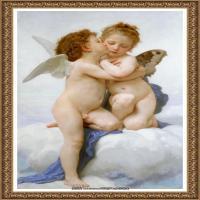 法国学院派画家威廉阿道夫布格罗Bouguereau Adolphe William油画人物高清图片 (139)