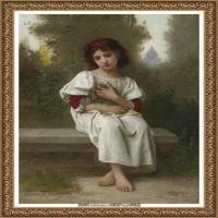 法国学院派画家威廉阿道夫布格罗Bouguereau Adolphe William油画人物高清图片 (88)