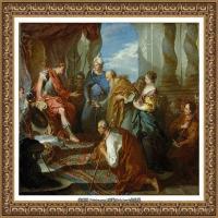 法国洛可可风格画派画家弗朗索瓦布歇Francois Boucher油画作品高清图片肖像画古典宫廷油画高清图片 (237)