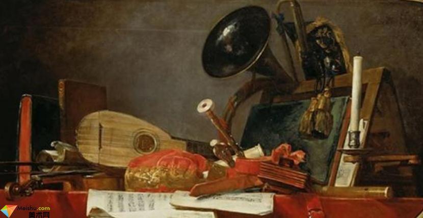 夏尔丹Jean Baptiste Siméon-油画展(一)