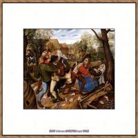 彼得勃鲁盖尔Bruegel Pieter荷兰画家油画作品高清图片 (48)