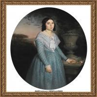 法国学院派画家威廉阿道夫布格罗Bouguereau Adolphe William油画人物高清图片 (95)