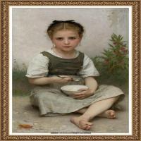 法国学院派画家威廉阿道夫布格罗Bouguereau Adolphe William油画人物高清图片 (70)
