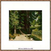 法国著名画家保罗塞尚Paul Cézanne印象派油画作品高清图片塞尚静物画塞尚风景画图片 (142)