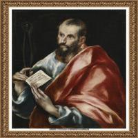 西班牙著名宗教画肖像画画家埃尔格列柯El Greco绘画作品高清图片 (88)