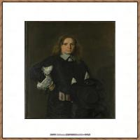荷兰17世纪著名肖像画家德克哈尔斯Dirck Hals油画人物作品高清图片 (20)