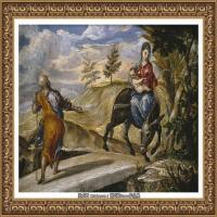 西班牙著名宗教画肖像画画家埃尔格列柯El Greco绘画作品高清图片 (97)