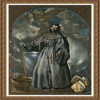 西班牙著名宗教画肖像画画家埃尔格列柯El Greco绘画作品高清图片 (79)
