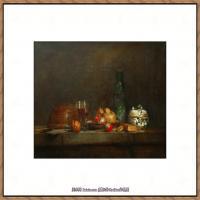 法国著名静物画家夏尔丹Jean Baptiste Siméon静物画巨匠夏尔丹油画作品高清图片 (36)