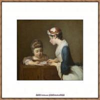 法国著名静物画家夏尔丹Jean Baptiste Siméon静物画巨匠夏尔丹油画作品高清图片 (52)