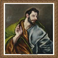 西班牙著名宗教画肖像画画家埃尔格列柯El Greco绘画作品高清图片 (86)