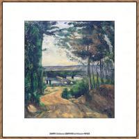 法国著名画家保罗塞尚Paul Cézanne印象派油画作品高清图片塞尚静物画塞尚风景画图片 (125)