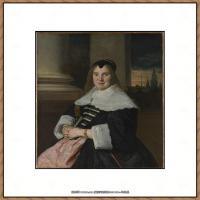 荷兰17世纪著名肖像画家德克哈尔斯Dirck Hals油画人物作品高清图片 (17)