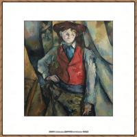 法国著名画家保罗塞尚Paul Cézanne印象派油画作品高清图片塞尚静物画塞尚风景画图片 (121)