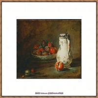 法国著名静物画家夏尔丹Jean Baptiste Siméon静物画巨匠夏尔丹油画作品高清图片 (23)