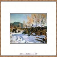 俄裔美籍画家尼古拉费申Nicolai Ivanovich Fechin油画作品高清图片 (10)