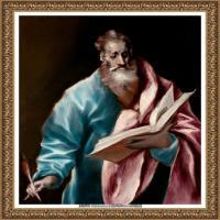 西班牙著名宗教画肖像画画家埃尔格列柯El Greco绘画作品高清图片 (131)